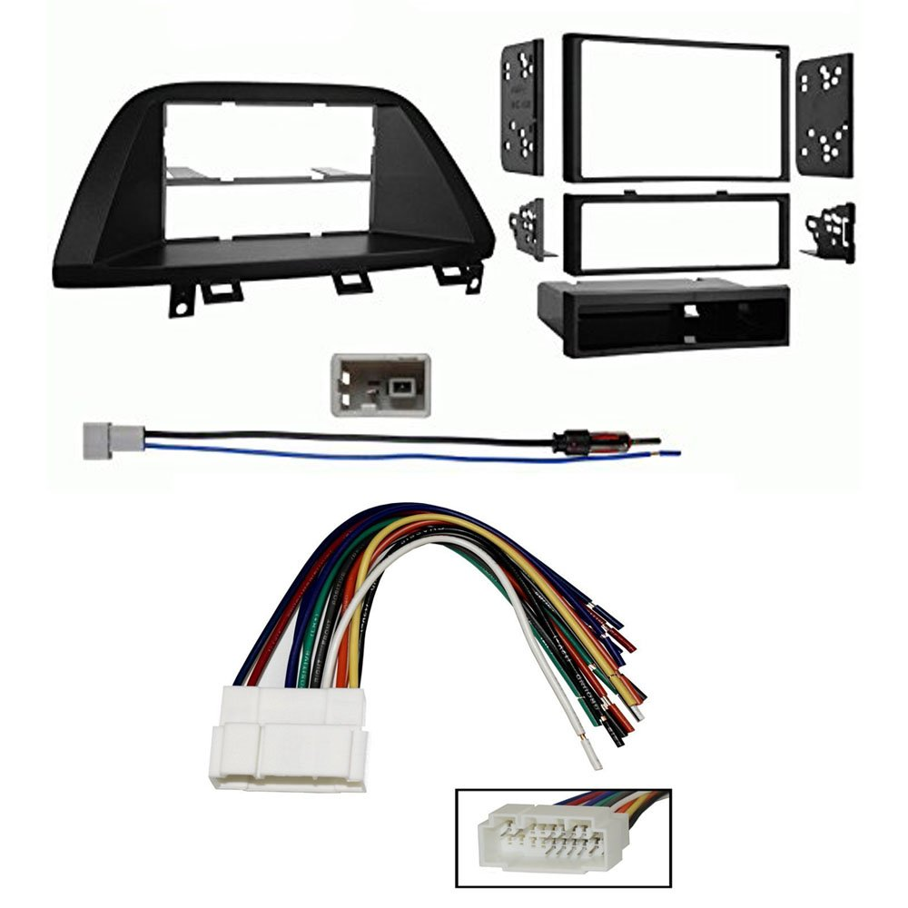 Amazon.com: Honda Odyssey 2005-2007 Radio Kit , Stereo Wire Harness and Car  Antenna Adapter: Car Electronics