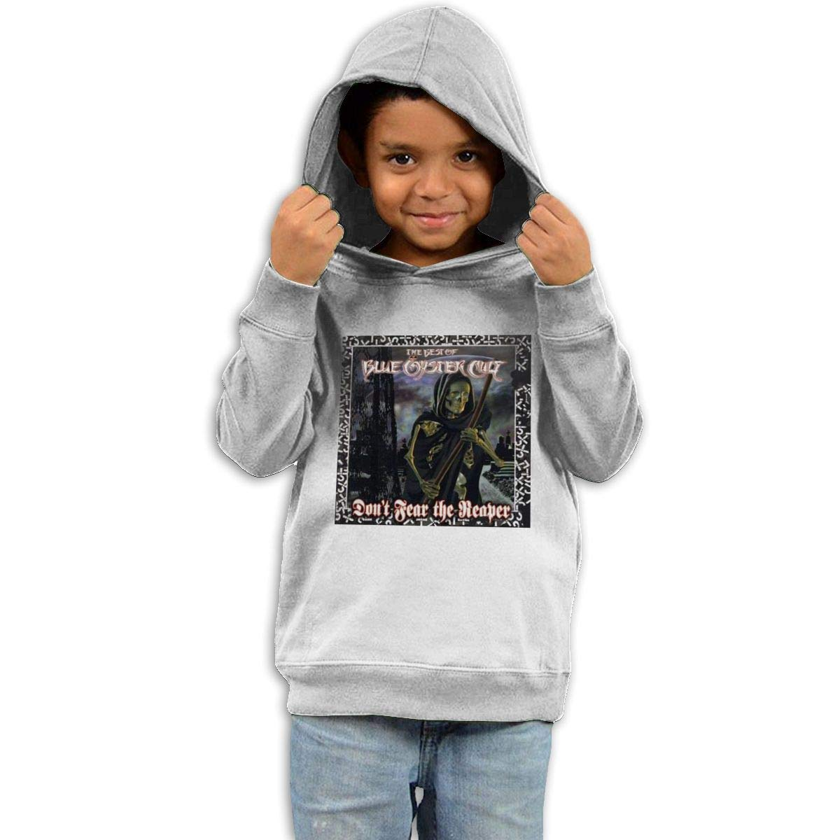 Stacy J. Payne Toddler Blue Oyster Cult Dont Fear The Reaper Funny Hoody42 White