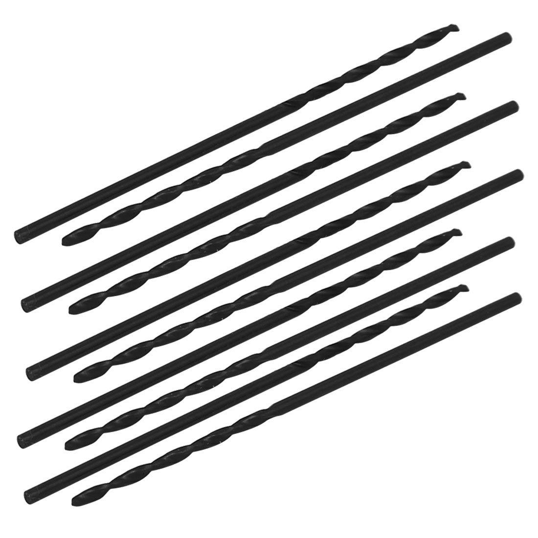 sourcingmap 10x 1, 6mm Dmr 48mm lang HSS Bohrer Metallbohrer Gerader Schaft Spiralbohrer DE a17030400ux0328