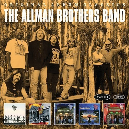 5cd Original Album Classics (The Allman Brothers Band 5 Classic Albums)