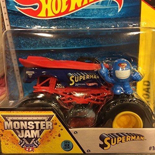 Buy hot wheels superman monster truck