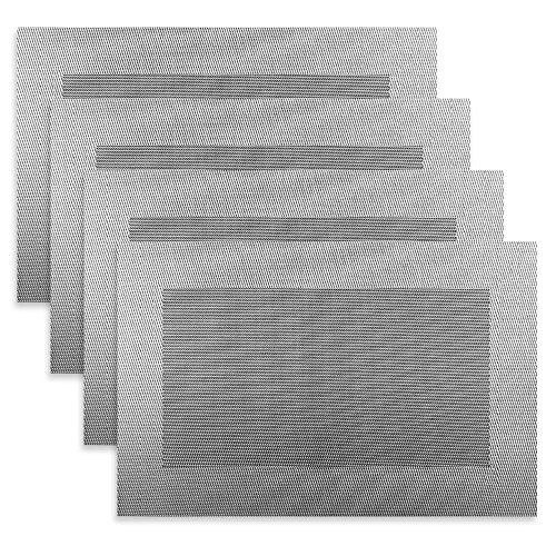 Placemat,Creative Dining Insulation Heat Stain Resistant anti-skid eat mats in Room for Kitchen table (Set of 4)