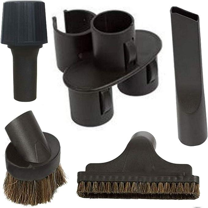 Maxorado - Juego de boquillas universales para aspiradora compatible con Bosch, Siemens, Miele, Dirt Devil, Einhell y Makita Masko Syntrox: Amazon.es: Hogar