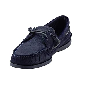 Sperry Top-Sider Men's A/O Pony Hair Navy Boat Shoe