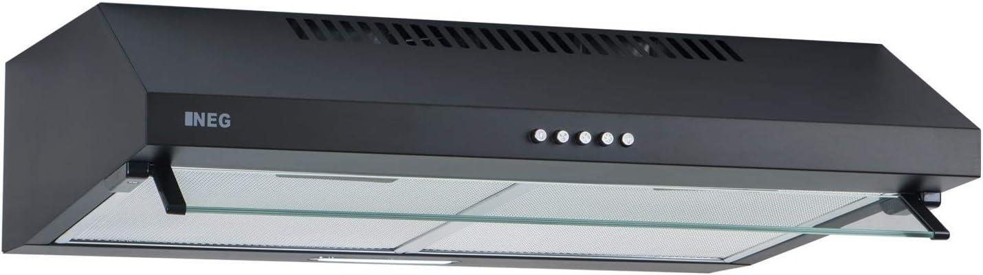 Dunstabzug Umluft//Abluft LED weiß NEG Unterbau-Dunstabzugshaube NEG15-ATW