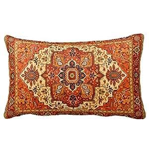 Amazon Com Persian Rug Home Throw Pillow Case Pillow Case