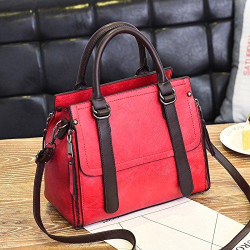 Polyvalent Mode en Sac La Mode Sac Et bordeaux ZHANGJIA Simple BWSqU1Ap8p