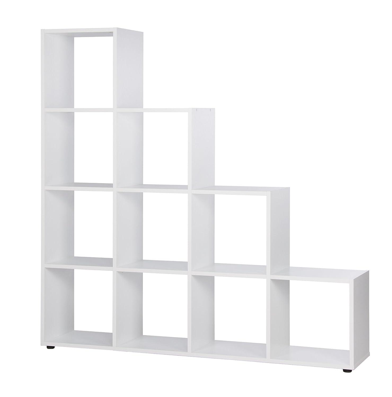 Intertrade 000879 Raumteiler, Spanplatte, weiß, 33 x 155 x 156 cm