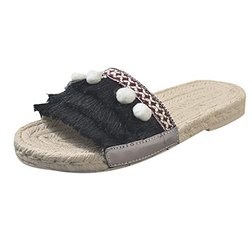 NMERWT - Zapatillas de Estar por casa para Mujer, Estilo clásico ...