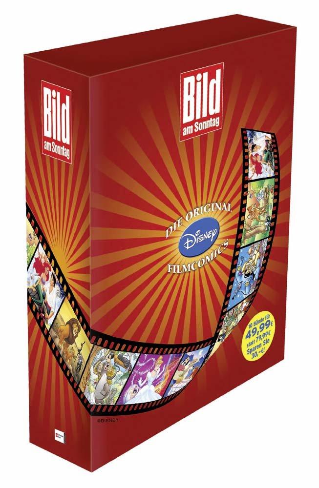 BamS-Edition, Disney Filmcomics: Schuber
