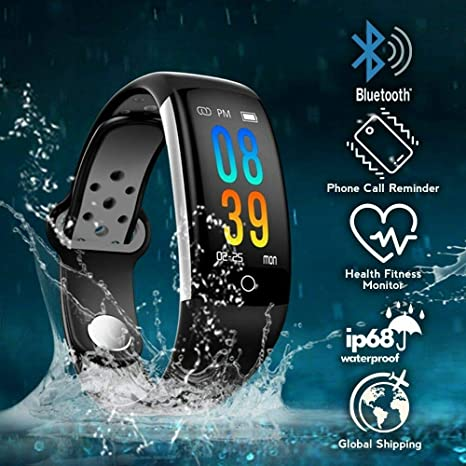 Amazon.com: MKO Waterproof Smart Band Watch-Fitness Tracker ...