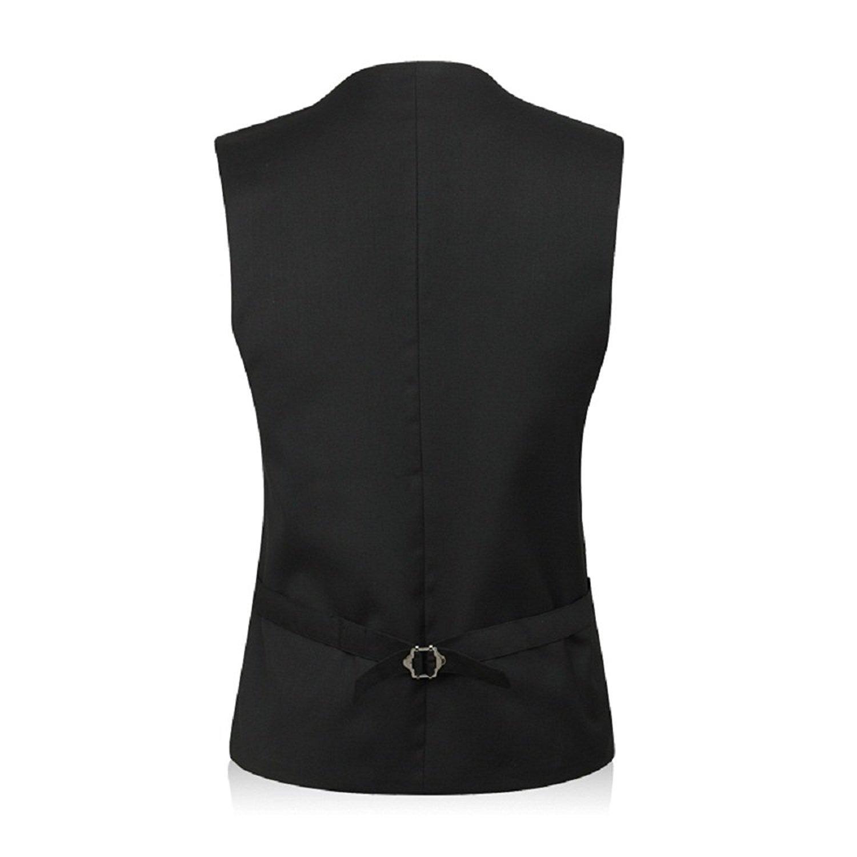 MARIR Men Vests Jacket Classic Style Slim Fit Business Waistcoat
