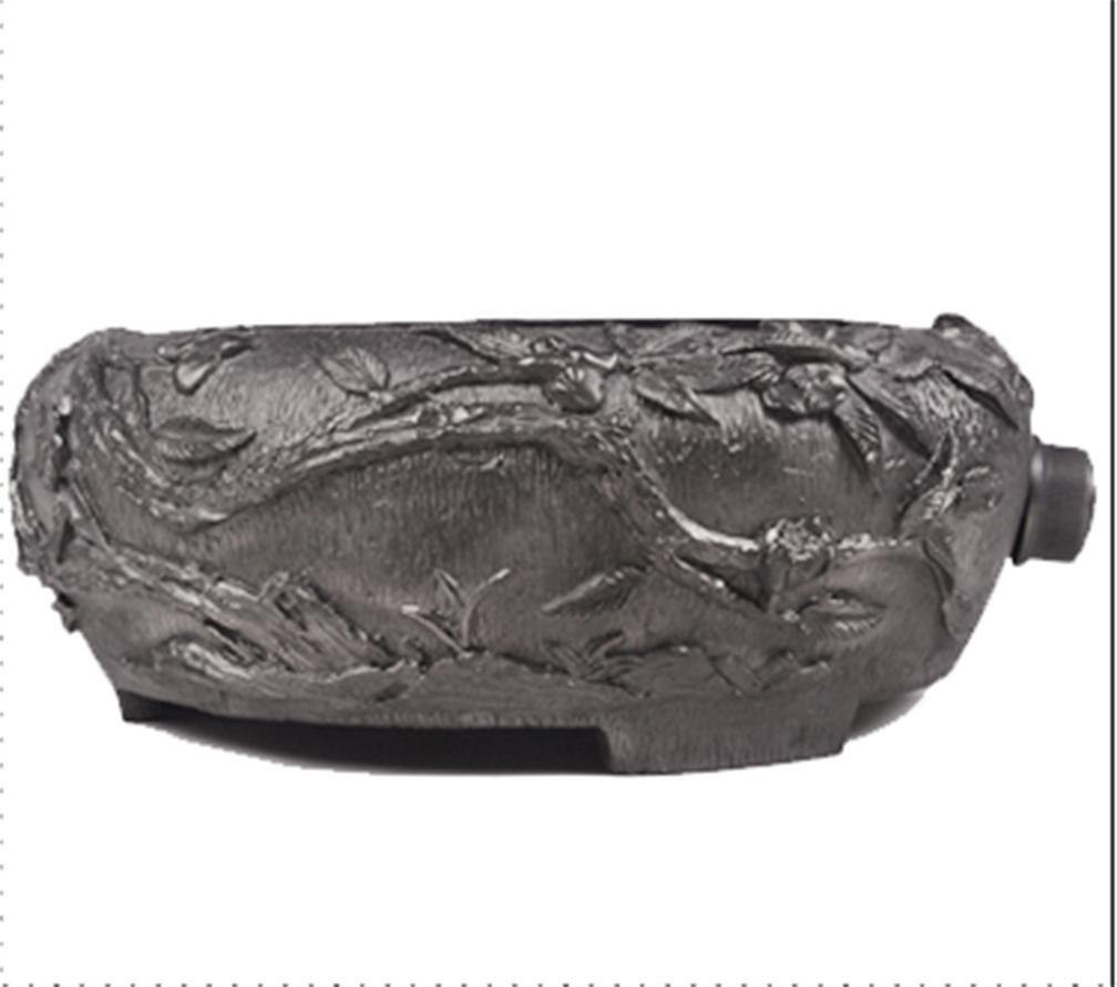 Japón tetera eléctrica especial de cerámica de la estufa de arrabio Calefacción Hervido Multi agua - Ropa funcional estufa caliente flores en relieve del ...