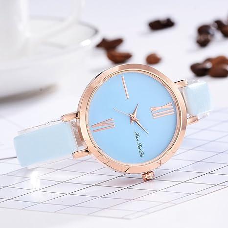 Lazzgirl - Reloj analógico de Cuarzo para Hombre, Adolescente ...