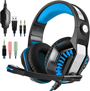tophie® Gaming Headset, última PS4 Gaming Auriculares con ...