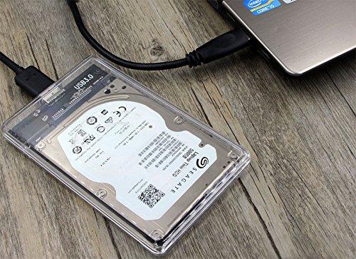 Amazon.com: SATA a USB 3.0 sin herramientas caja de disco ...