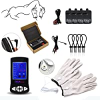OUYAWEI LCD Display Electric Shock Pulse Therapy Relaxation SM Game Couples Set