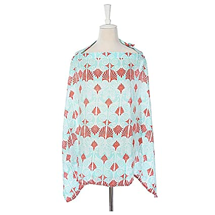 d2c0a91e9dd2f Image Unavailable. Image not available for. Colour: Breast Feeding Cover  Breastfeeding Cover Baby Infant Breathable Cotton Nursing Covers Shawl  Scarf Apron ...