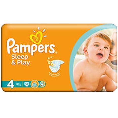 "PAMPERS Sleep & Play pañales máxima de ""4 Tallas 7 – 14 kg"