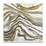World Art TW60129 Aesthetic Wooden Frame Abstract 100x100x3.5 cm Size: 40 x 40 x 2 Inch