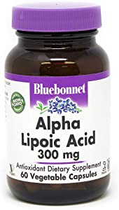 BLUEBONNET Nutrition Alpha LIPOIC Acid 300 mg
