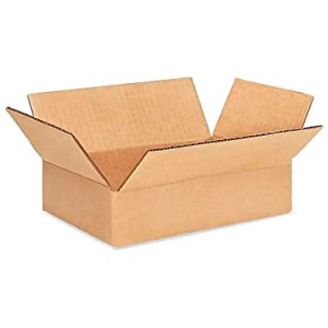 "IDL Packaging - B-962-25 Small Corrugated Shipping Boxes 9""L x 6ΓÇ¥W x 2""H (Pack of 25) - Excellent Choice of Sturdy Packing Boxes for USPS, UPS, FedEx Shipping"