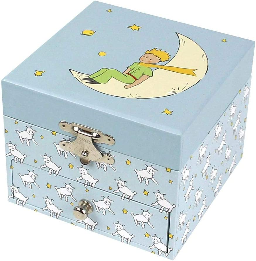 Caja de tesoros y joyas musicales fosforescente El Principito y oveja – Trousselier: Amazon.es: Juguetes y juegos