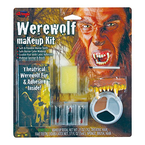 Blue Banana Werewolf Face Paint Kit -