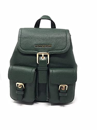 65e3b73dc35780 Image Unavailable. Image not available for. Color: MICHAEL Michael Kors  Susie Small Flap Pebbled Leather Backpack