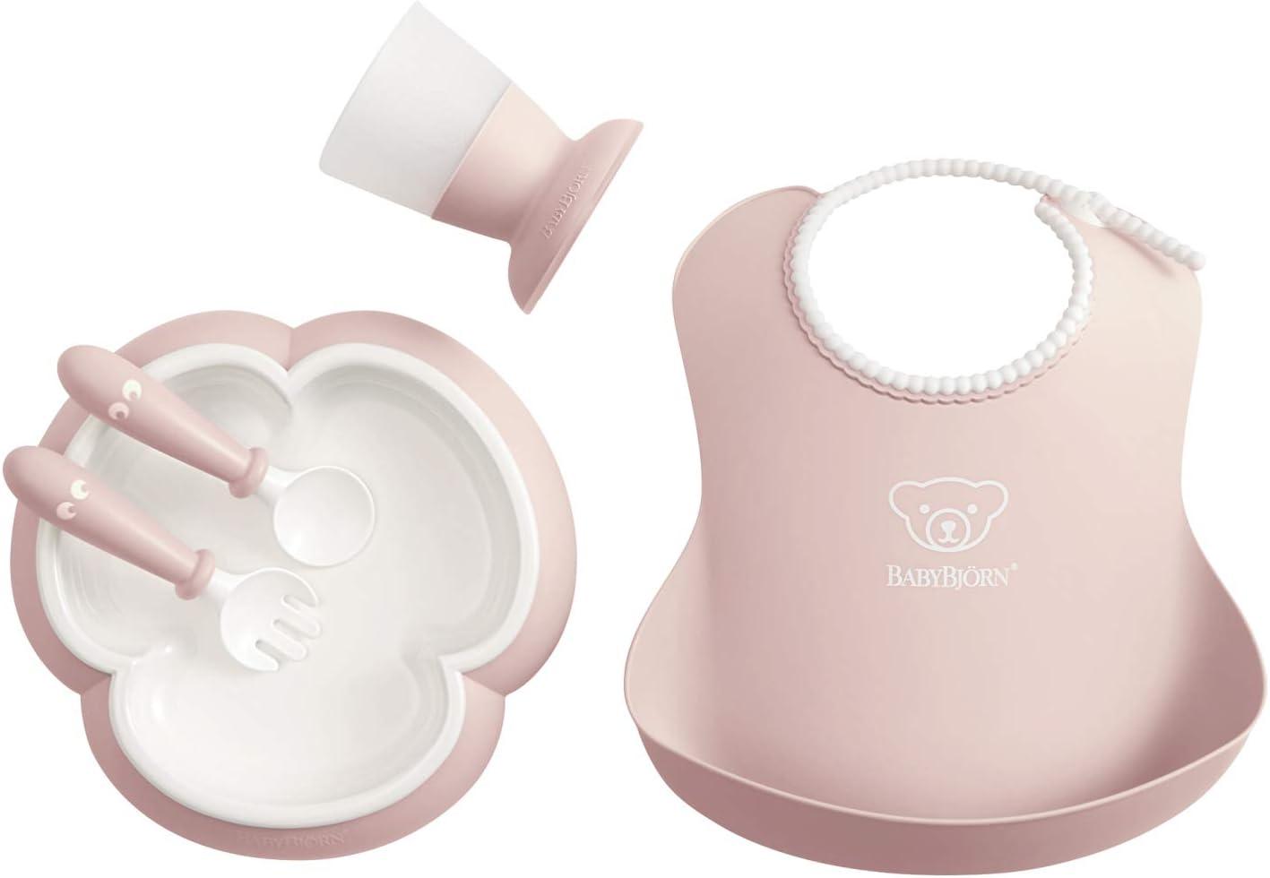 BabyBjörn 070064 - Cuchara y tenedor para bebé, 4 piezas