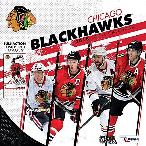 2018 Chicago Blackhawks Mini Wall Calendar