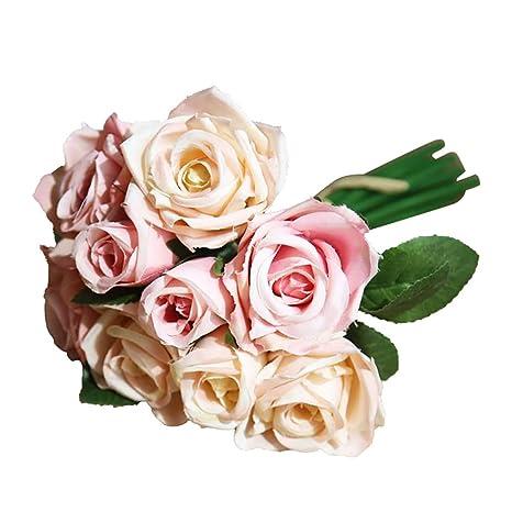 smallwoodi Rose Artificielle en Plastique Décoration pour ...