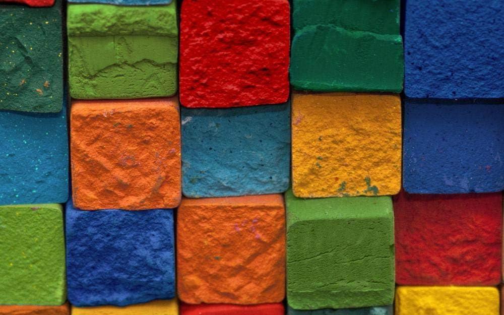 YDANH Rompecabezas de Alta dificultad 1000 Piezas de Rompecabezas de descompresión para Cuadros Famosos de Adultos de la cuadrícula de Color