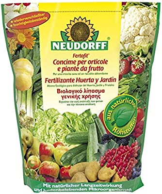 Neudorff Fertilizante orgánico Huerta y jardín 4,5 Kg: Amazon.es ...