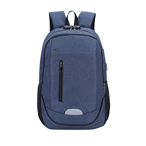 62173ccc9792 Amazon.com : luofeisi Backpack USB Men and Women Business Computer ...