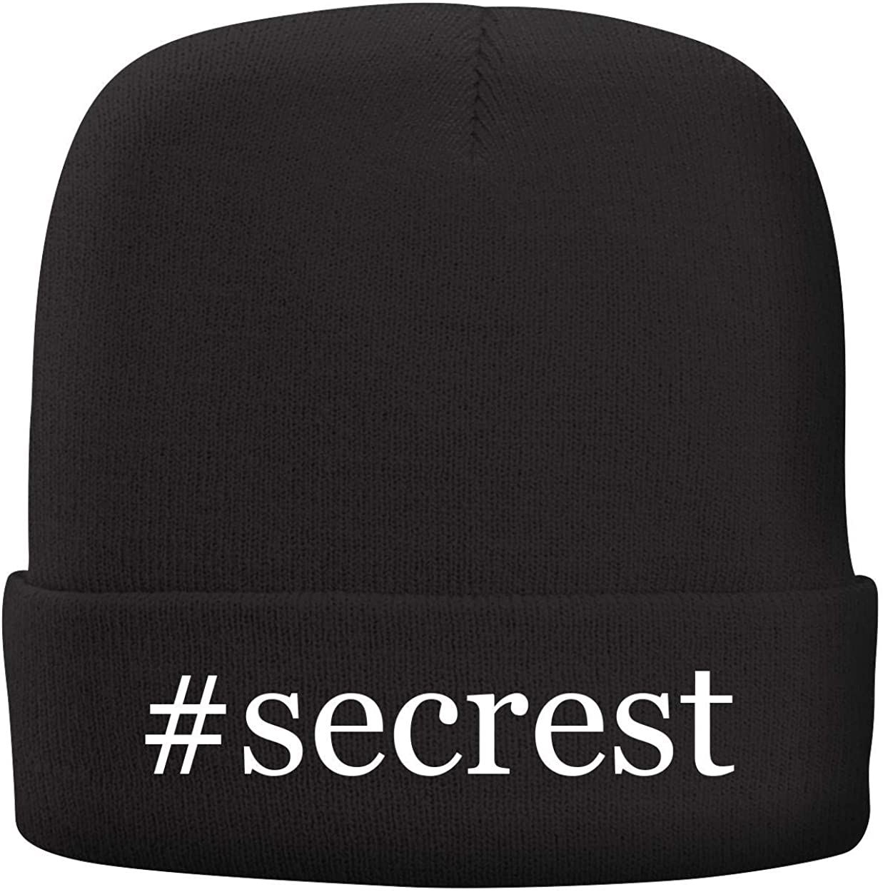 Adult Hashtag Comfortable Fleece Lined Beanie BH Cool Designs #Secrest