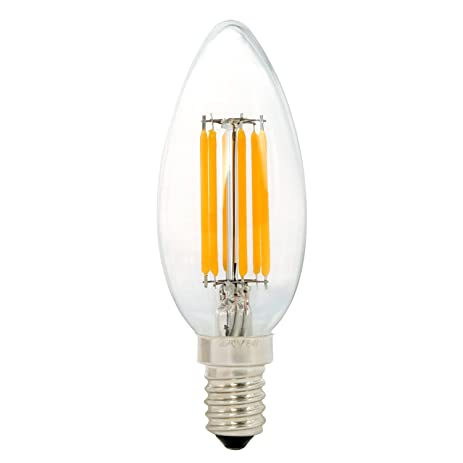 Amazon.com: B11 LED Chandelier Bulbs, NATIONALMATER C35 6W LED ...