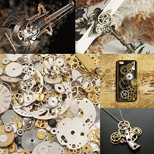 surepromise 50g cyberpunk vintage steampunk jewelry cogs. Black Bedroom Furniture Sets. Home Design Ideas