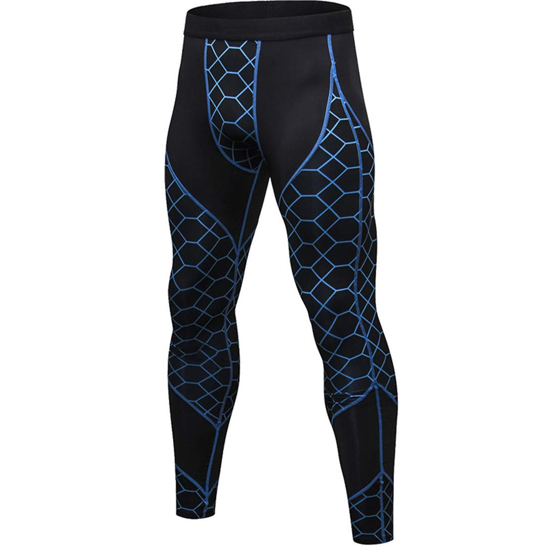 Amazon.com: Compression Pants Mens Fitness Workout Yoga ...