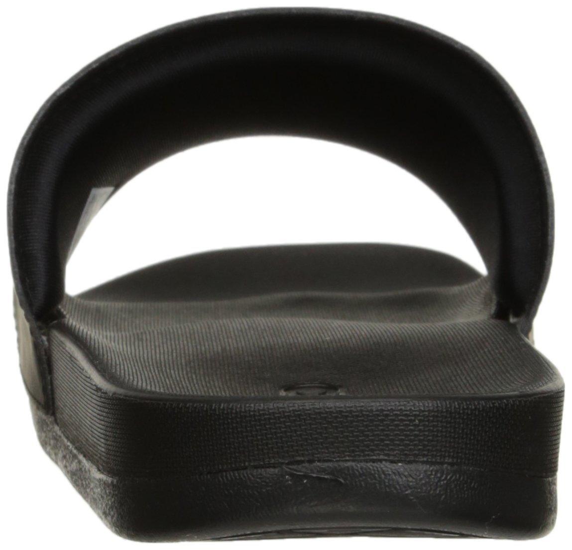 adidas Performance Women's Adilette CF Ultra Stripes C W Athletic Sandal B019EM5XHO 9 M US|Black/White/Black
