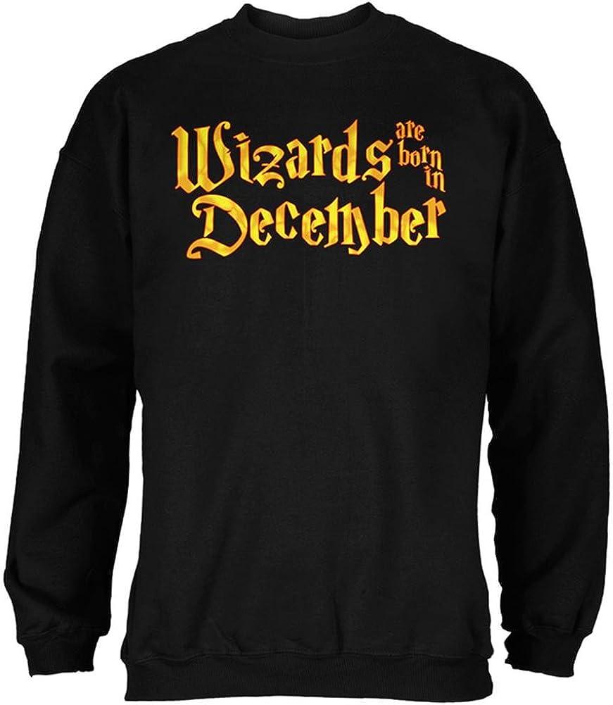 Wizards are Born in December Mens Sweatshirt