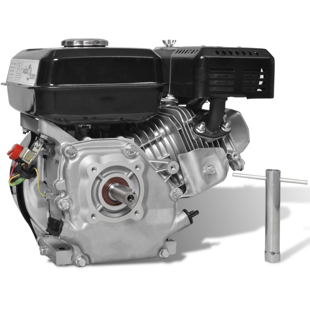 vidaXL Motor de Gasolina Negro 6,5HP 4,8kW Recambio Coche Herramienta Vehículo: Amazon.es: Bricolaje y herramientas