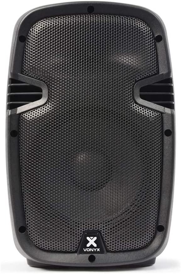 Skytec SPJ-800A Hi-End 8 Inch Active Powered DJ Disco PA Party ABS Speaker 200W