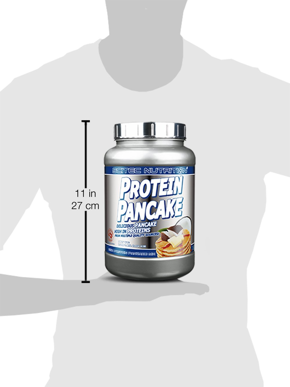 Scitec Nutrition Protein Pancake Mix - 2.28 Pound, White Chocolate Coconut by Scitec Nutrition (Image #3)