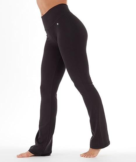bca8ad163 Amazon.com   Bally Total Fitness Womens Tummy Control Long Pant 34 ...
