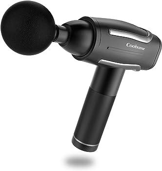 Coohome Handheld Deep Tissue Percussion Massage Gun