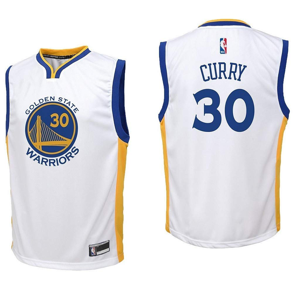 new york 189e7 6f251 #30 Stephen Curry Golden State Warriors Youth Jersey White
