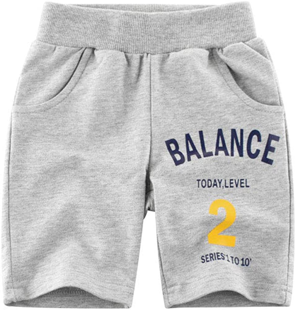sharely sheep Baby Boy Girl Cotton Shorts with Drawstring Kids French Terry Knit Short Pants