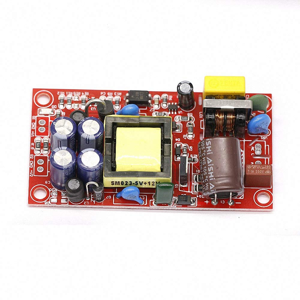 12V1A//5V1A Fully Isolated Switching Power Supply Module 220V Turn 12v 5v Dual Output//AC-DC Module