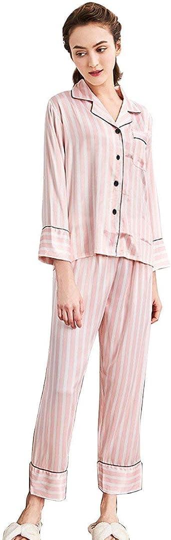 Pijamas Mujer Mujer Primavera Otoño Camisones Pantalon Tops 2 ...